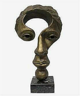 """Large Size In Faux Bronze 20""""h x 12""""w x 6""""d"""