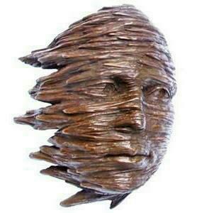 Blown Sculpture in Cold Cast Copper