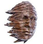 Blown Sculpture in Cold Cast Copper