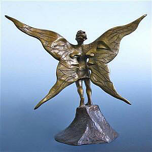 Gift Of Flight in Bronze