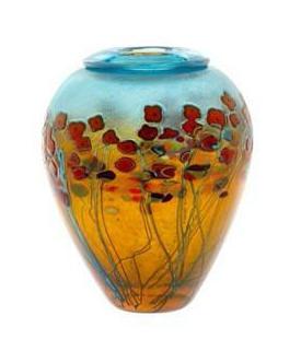 California Poppy Ginger Pot