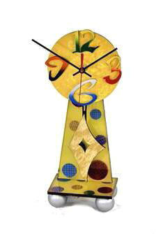 Yellow Desk Clock