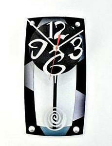 TV 8 Wall Clock