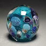 Seascape Orb Paperweight