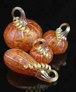 Tangelo Pumpkins 4 Piece Set