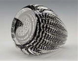 Black Optic Paperweight