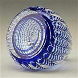 Cobalt Blue Optic Paperweight