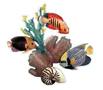 Undersea Coral Scene