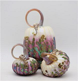 Lilac Pumpkin Set