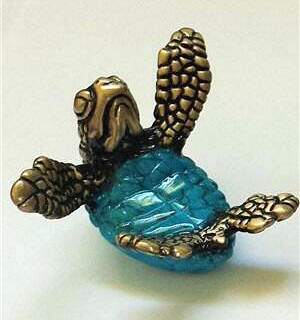 Snuggle Bronze Turtle