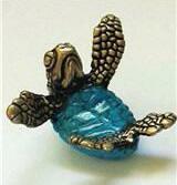 Snuggle Bronze Turtle
