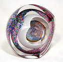 Triple Cut Paperweight Zephyr