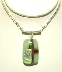 Flower Pendanr Light Green