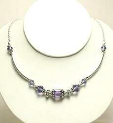 Swarorvski Necklace by Designer Naomi Johnson