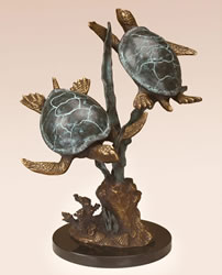 Sea Turtle Duet by SPI Gallery