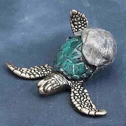 First Step Bronze Turtle