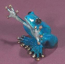Hugs Limited Edition Bronze Frog