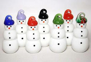 Snowmen Tree Ornaments