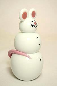 Mouse Snowman