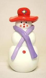 Red Hat Snowman