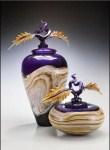 Strata Jar & Bowl Amethyst