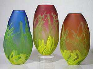 Etched Sea Fan Vessels
