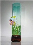 Angel Fish Vase Seagrass