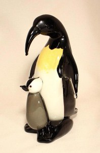 Emperor Penguin with Baby