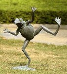 Dancing Frog Spitter