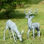 Garden Deer Pair