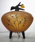 Amber Stalks Kyoto Lantern