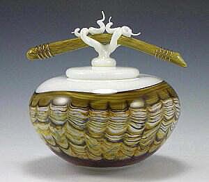 Sargasso Bowl Bone Finial