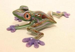 Glass Tree Frog Purple