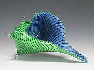 Sea Shell Green Blue