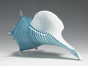 Sea Shell Blue-Green White