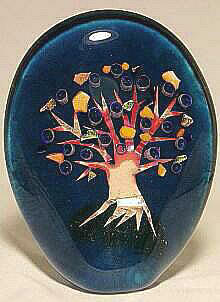 Tree of Life Paperweight Sculpture
