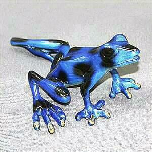 Precious Frog Blue