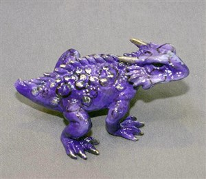 Horned Toad Purple