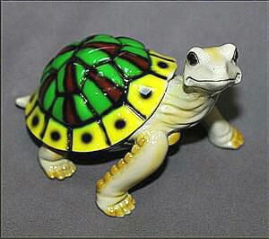 Daden Multi Color Bronze Turtle