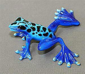 Rebecca Frog Blue Patina