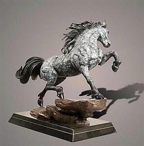 Horse The Stallion Dapple Gray