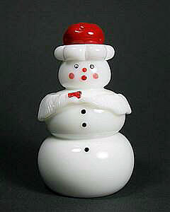 Mrs Claus Snowman