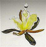 Orchid Perfume Bottle