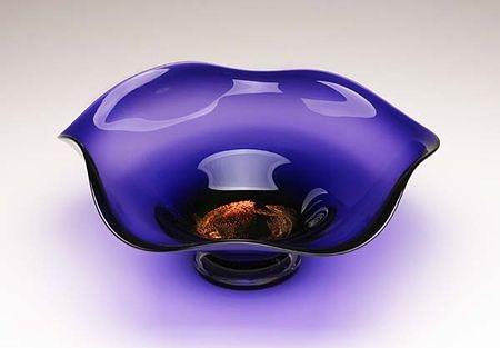 Amethyst Glass Sealife Bowl