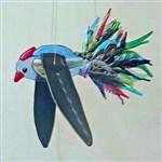 Parakeet Kinetic Flying Bird