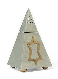 Pyramid Havdalah Spice Box