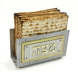 Upright Matzah Holder