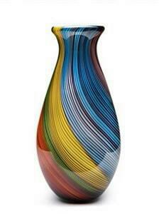 Rainbow Twist Vase Toscana
