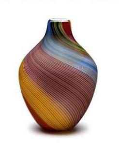 Acorn Vase Rainbow