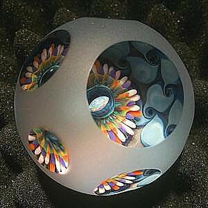 Opal Basket Rainbow Marble